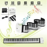 Toko 88 Tombol Gulung Electric Piano Keyboard Usb Midi Kids Gift Portable Lipat Intl Not Specified Di Tiongkok