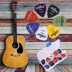 Spek Akustik Listrik 6 Tebal Pick Bag Aneka Guitar Picks Plectrums 25 Pcs Set Intl