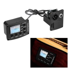 Rp 240.000. Acoustic Guitar 4-Band EQ Equalizer Tone and Volume Amplifier Preamp Piezo Pickup ...