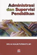 Toko Administrasi Dan Supervisi Pendidikan M Ngalim Purwanto Buku Pen Multi Dki Jakarta