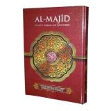 Ulasan Al Qur An Al Majid Terjemah Dan Tajwid Warna A4 Merah