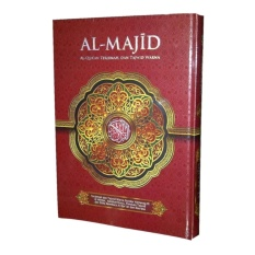 Spesifikasi Al Qur An Al Majid Terjemah Dan Tajwid Warna A4 Merah Terbaru
