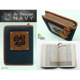 Jual Al Quran Madina Ar Rayyan Special For Men Navy Satu Set
