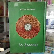 Review Toko Al Quran Mushaf As Samad Tajwid Warna Besar A4 Hijau Online