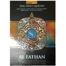 Beli Al Quran Rasm Utsmani Tajwid Warna Tafsir Perkata Al Fathan Al Fatih Baru