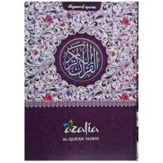 Ulasan Tentang Al Quran Tajwid Dan Terjemah Syaamil Azalia Hishna Ukuran A5 Ungu Alquran Ukuran Sedang