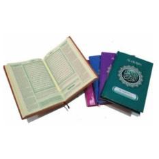 Jual Beli Online Al Quran Terjemah Al Mubin Tanggung A5 Hijau Pustaka Al Mubin Alquran Ukuran Sedang