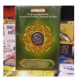 Diskon Besaral Quran Terjemah Perkara Dan Kode Tajwid Al Wasim A5 Hijau