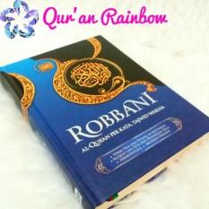 Jual Al Quran Terjemah Perkata Dan Tajwid Warna Robbani A4 Besar Biru Murah Dki Jakarta