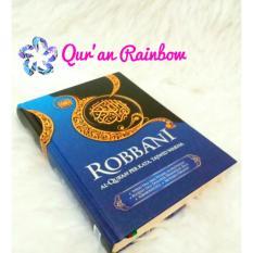 Al Quran Terjemah Perkata dan Tajwid Warna Robbani A5/Sedang - Biru
