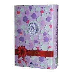 Review Almahira Quran Hafalan Cover Polkadot Ungu Muda