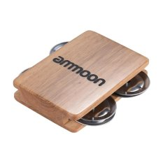 Cajon Box Drum Companion Accessory 4-bell Jingle Castanet for Hand Percussion Instruments Outdoorfree - intl