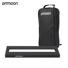 Spesifikasi Ammoon Db 1 Mini Aluminium Alloy Gitar Pedal Board Dengan Carrying Bag Tapes Intl Online