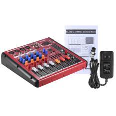 Beli Ammoon Digital Bluetooth 4 Channel Mic Jalur Audio Mixer Pencampuran Konsol 2 Band Eq Dengan 48 V Phantom Power Antarmuka Usb Untuk Merekam Dj Stage Apresiasi Musik Outdoorfree Intl Kredit Tiongkok