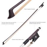 Jual Beli Ammoon Seimbang 4 4 Violin Fiddle Bow Serat Karbon Round Stick Indah Horsehair Katak Ebony Intl Hong Kong Sar Tiongkok
