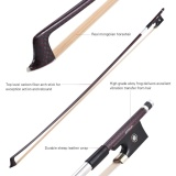Harga Ammoon Seimbang 4 4 Violin Fiddle Bow Serat Karbon Round Stick Indah Horsehair Katak Ebony Intl Not Specified