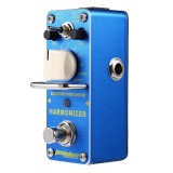 Spesifikasi Aroma Ahar 3 Harmonizer Pitch Shifter Electric Guitar Effect Pedal Blue Light Intl Terbaik