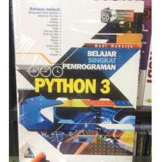 Belajar Singkat Pemrograman Python 3 - Budi Raharjo By H Run Store.