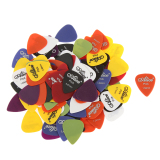 Review Bolehdeals Alice Nilon Warna Campuran Plectrums Pick Gitar Standar 100 Buah