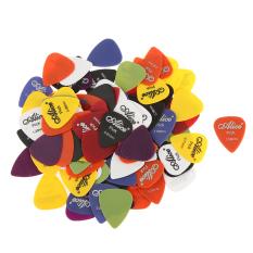 Beli Bolehdeals Alice Nilon Warna Campuran Plectrums Pick Gitar Standar 100 Buah Dengan Kartu Kredit