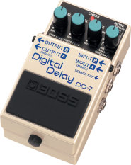 Boss Effect Gitar Digital Delay Dd-7 - White