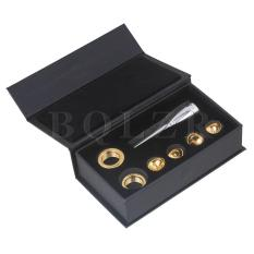 Diskon Brass Trumpet Mouthpiece With 4 Cups And 2 Heads Silver Golden Branded