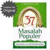 Katalog Buku 37 Masalah Populer Original Ust Abdul Somad Lc Ma Buku Agama Terbaru