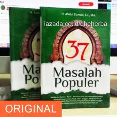 Jual Buku 37 Masalah Populer Ustadz Abdul Somad Lc Ma Online Di Jawa Barat