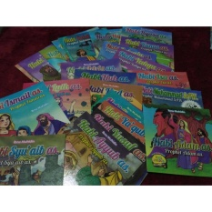 Buku Cerita Nabi Billingual 1 Set By Arfas Store.