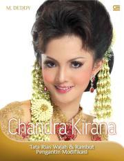 Buku Chandra Kirana : Tata Rias Wajah & Rambut Pengantin Modifikasi