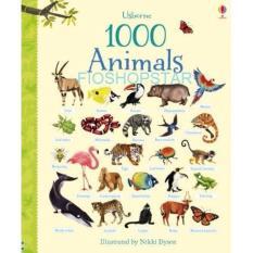 Harga Buku Edukasi Anak Impor Usborne 1000 Animals Branded