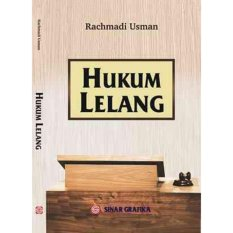 Iklan Buku Hukum Lelang Rachmadi Usman S H M H