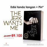 Buku Kita The Jerk Wants Me Seri Tanda Tangan Pin Murah