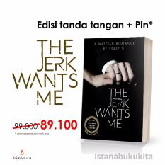 Buku Kita The Jerk Wants Me Seri Tanda Tangan Pin Diskon Akhir Tahun