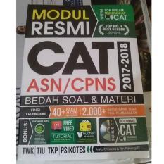 Toko Buku Modul Resmi Cat Asn Cpns 2017 2018 Cd Terlengkap Di Di Yogyakarta