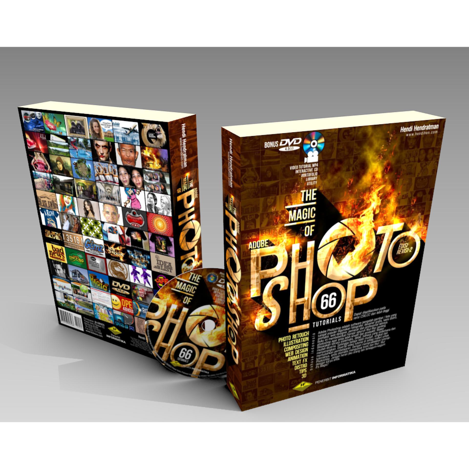 Harga preferensial Buku Photoshop DVD Video Tutorial CS6 & CC Terlengkap Pemula terbaik murah - Hanya Rp145.350