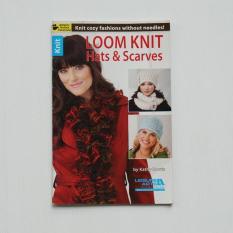 Buku Rajutan - Loom Knit Hats & Scarves By Craft Studio.