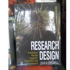 Harga Buku Research Design Pendekatan Edisi 4 Online Di Yogyakarta