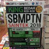 Jual Buku Sbmptn The King Bedah Kisi Kisi Sbmptn Saintek 2018 Cd Branded Murah