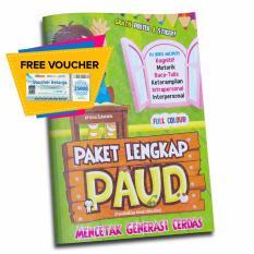 Toko Buku Seru Paket Lengkap Paud Mencetak Generasi Cerdas Termurah Di Dki Jakarta