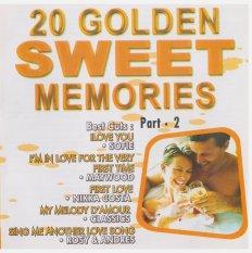 Toko Bulletin Music Shop Cd 20 Golden Sweet Memories Part 02 Termurah Di Indonesia