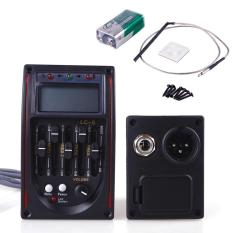 Buy In Coins 5 Preamp Eq Gitar Akustik Lc-5 Equalizer Tuner Piezo Pickup By Buy In Coins.