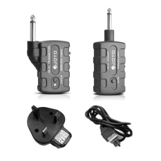 Jual Cepat Cheer Jw 01 Guitar Wireless Audio Transmitter Receiver Gitar Digital Bass Keyboard Black Uk Intl