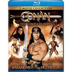 Conan: The Complete Quest (Conan the Barbarian / Conan the Destroyer) [Blu-ray] - intl