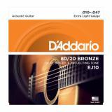 Harga D Addario Ej10 Senar Gitar Akustik Original 010 047 Online
