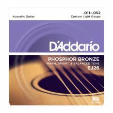 Jual D Addario Ej26 Senar Gitar Akustik Original 011 052 Di Bawah Harga
