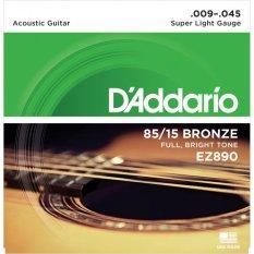 Spesifikasi D Addario Senar Gitar Akustik String American Bronze Ez890 Dan Harganya