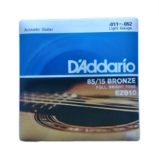 D'Addario Senar Gitar Akustik/Acoustic Ez910 Full, Bright Tone 011-052 New Cover