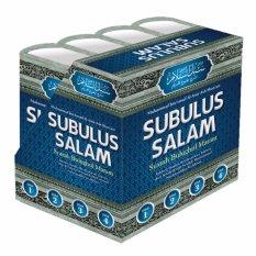 Jual Subulus Salam Syarah Bulughul Maram 4 Jilid Lengkap Darus Sunnah Darus Sunnah Original