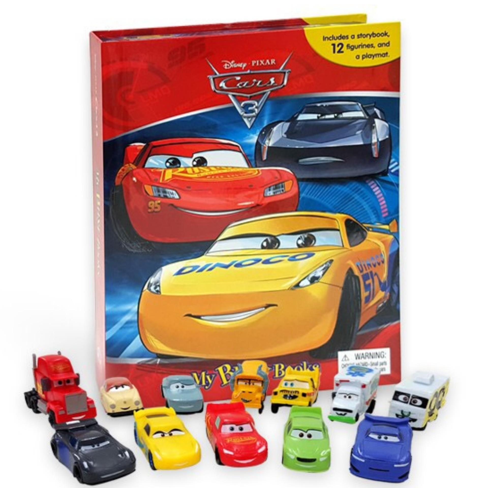 Disney Pixar Cars 3 My Busy Book Buku Anak Import